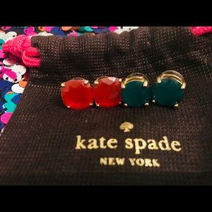 2 Pair Kate Spade Earings